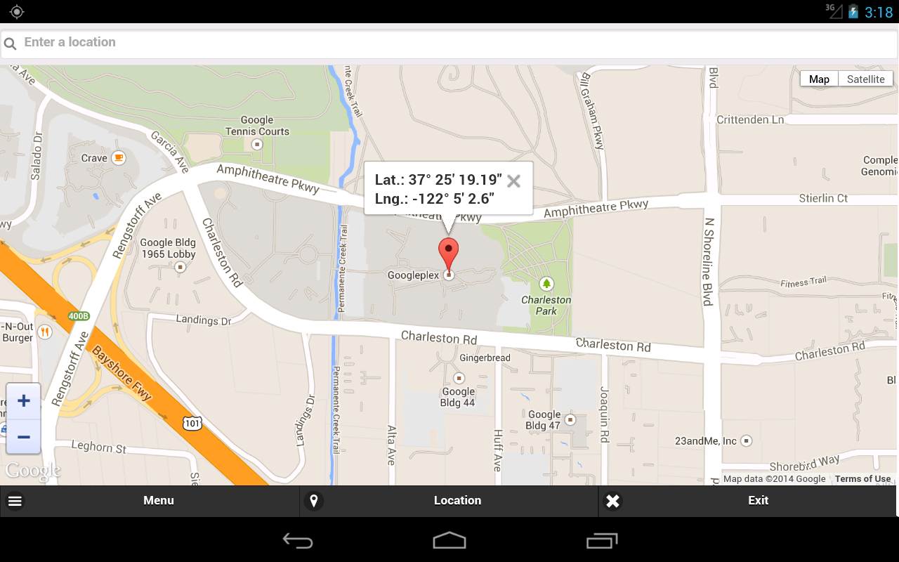 how to find gps coordinates on a map