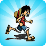 jump luffy Icon
