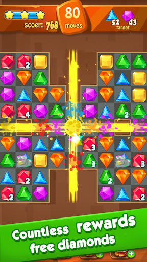 Jewels Classic - Jewel Crush Legend apktram screenshots 4