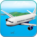 3D Flight Simulator Airplane icon