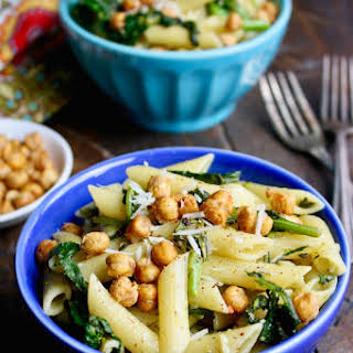 Pasta with Rapini and Crispy Chickpeas.