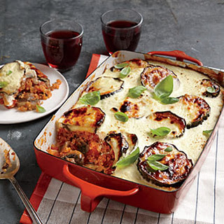 Cheesy Vegetable Moussaka.