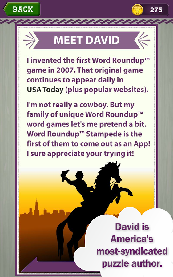Word Roundup Stampede - Search- screenshot