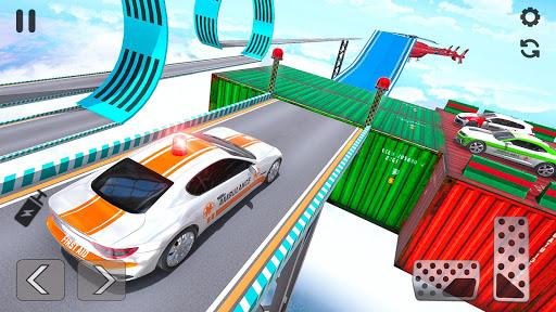 Ambulance Car Stunts: Mega Ramp Stunt Car Games 2.1 screenshots 14