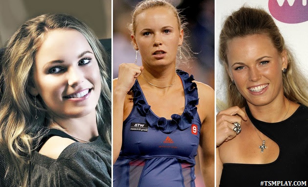 the prettiest women from denmark in tennis