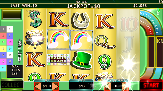 Irish Casino Slots 365 Free Bet - náhled