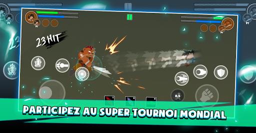 Télécharger Battle Stick Dragon: Tournament Legend mod apk screenshots 2