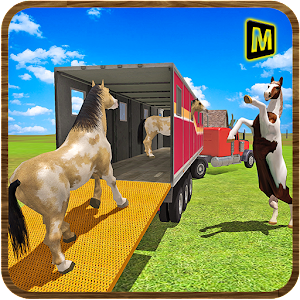 Horse Stunts Transporter Truck for PC and MAC