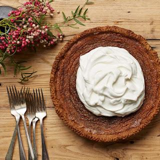 Deep-dish Maple-Bourbon Cream Pie