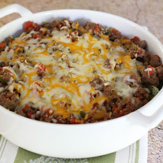 Ground Beef and Cabbage Casserole.