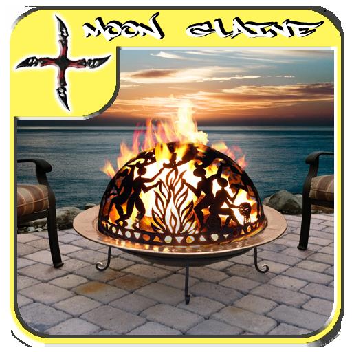 書籍App|屋外暖炉のデザインのアイデア LOGO-3C達人阿輝的APP