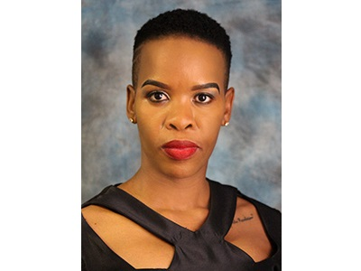 Honourable Viola Motsumi, deputy speaker of the North West Provincial legislature