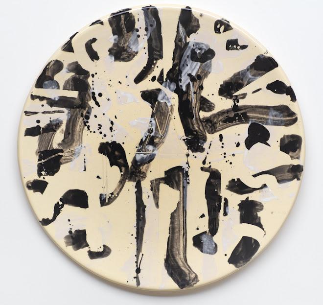 "<p> <strong>Study for Splendide-Hôtel 2</strong><br /> Ceramic plate<br /> 13 ¼"" x 13 ¼""<br /> 2018</p>"
