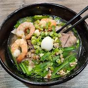 Pork and Shrimp with Tapioca Noodles (Hu Tieu Nam Vang)