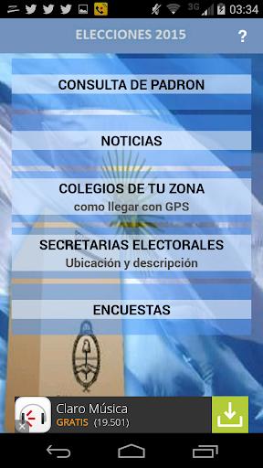 Donde Votar Padrón Electoral.