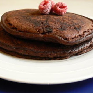 Chocolate Pancakes with Xocai Healthy Dark Chocolate