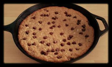 Big Skillet Cookie Recipe