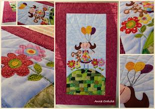 Photo: Quilt para Ariadna