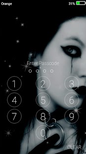 Gothic Live Wallpapers ( Lock Screen ) - náhled
