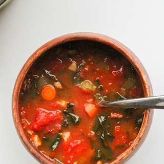 Minestrone Soup with Kale