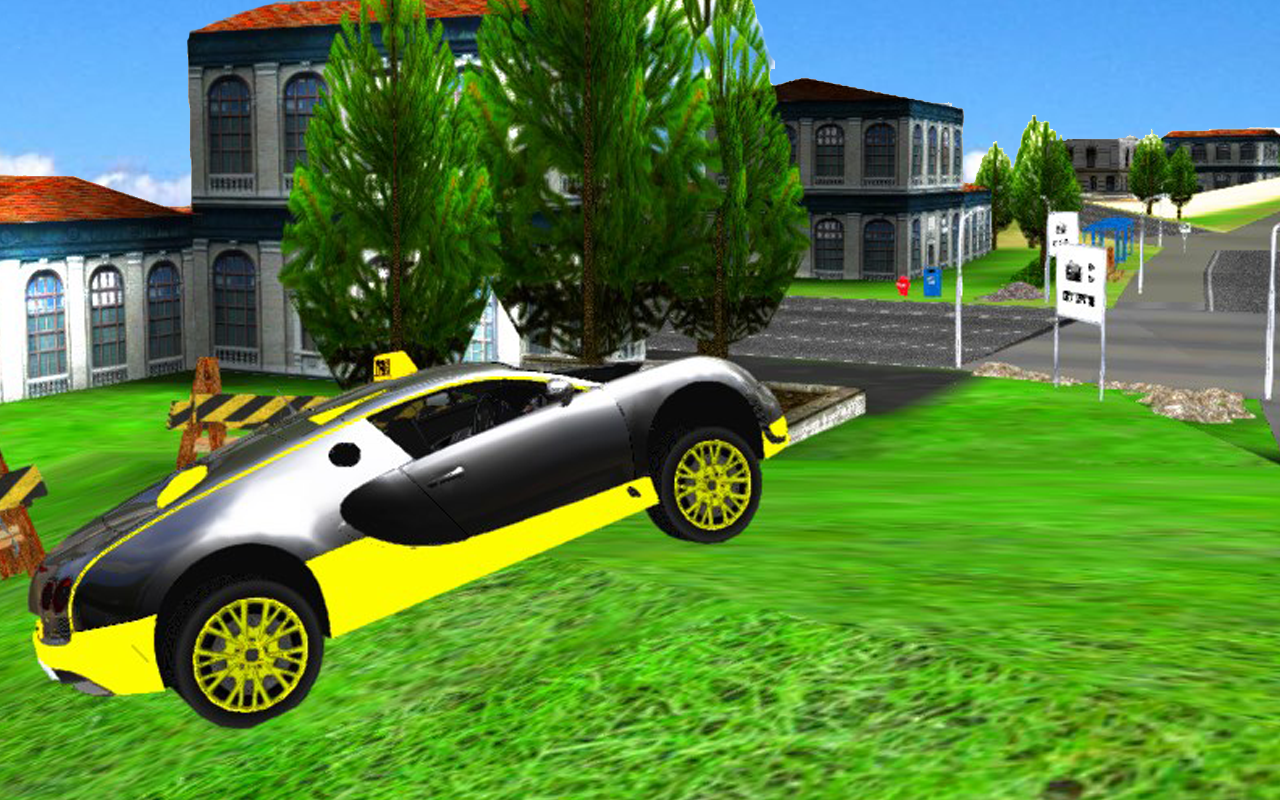 Taxi Town Driving Simulator- screenshot