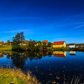 Niederneustift by Franz  Adolf - Landscapes Waterscapes ( water, lake, pond )