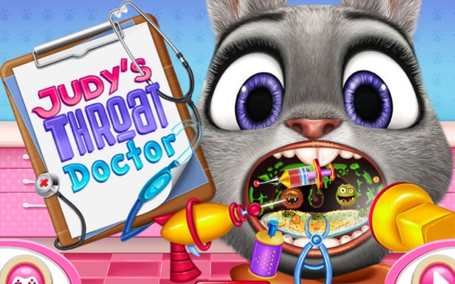Judys Throat Doctor Game