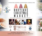 Boutique Christmas Market : The Park, House of Events on 7
