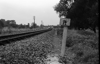 Photo: 76 1/2 miles from London (June 1972)