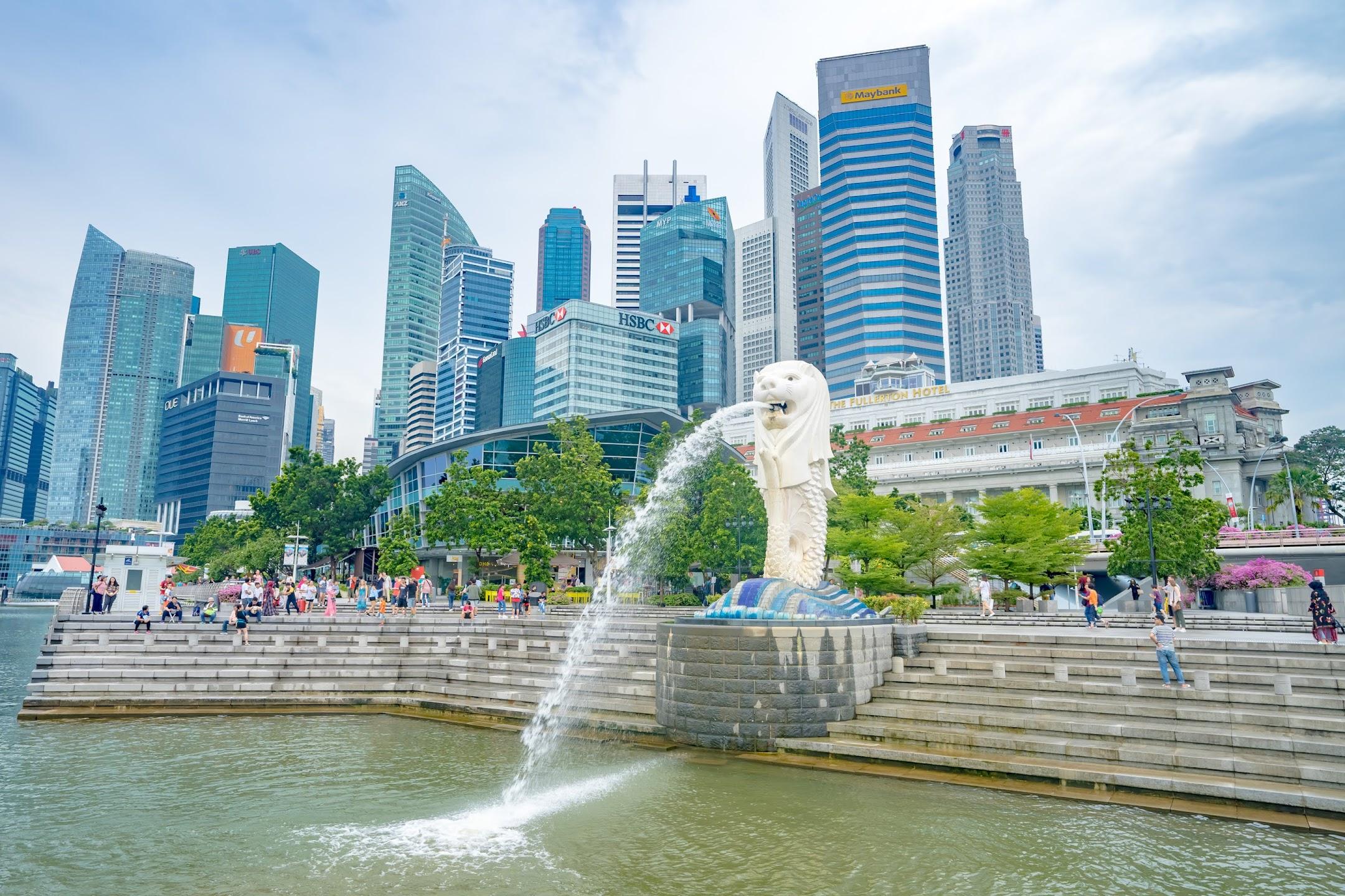 シンガポール マーライオン
