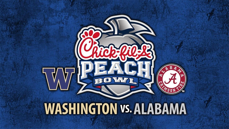 Chick-fil-A Peach Bowl: Washington vs. Alabama