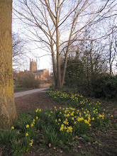 Photo: Bromwich Parade path with Cathedral in the distance