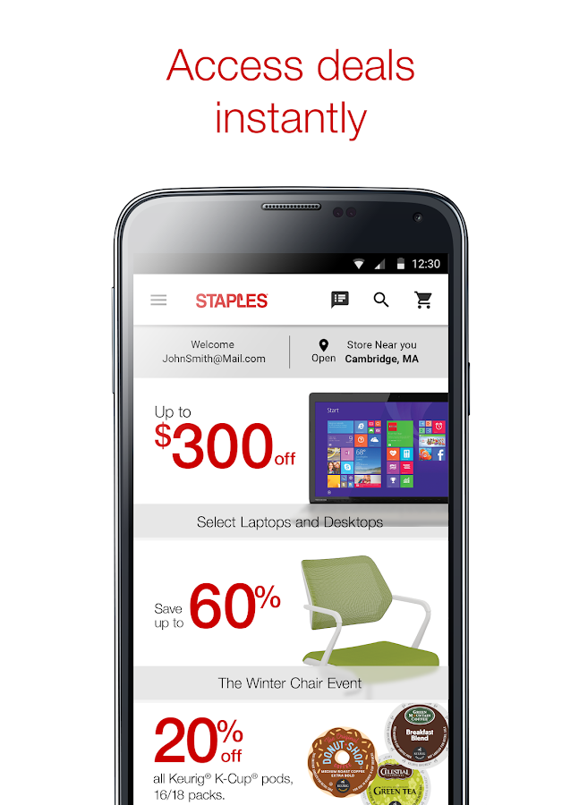 Staples® -Daily Deals & Sales- screenshot