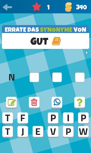 Synonyme und Antonyme (Spiel) screenshot