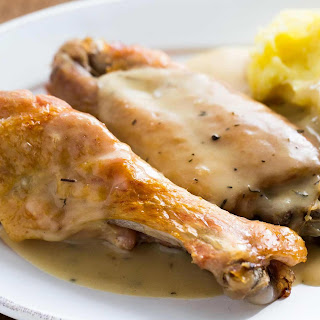 Smothered Turkey Wings.