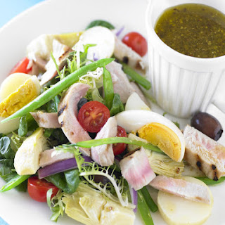 Nicoise Salad with Grilled Tuna Recipe