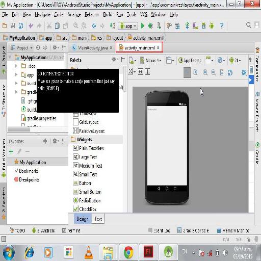 Android Studio Live Tutorial