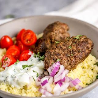 Aussie Ground Lamb Kofta Bowl Recipe