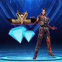 Free Diamonds & Elite Pass icon