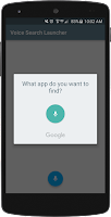 Screenshot of Voice Search Launcher