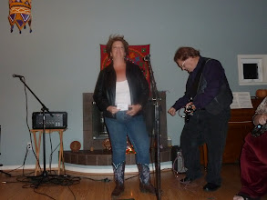 Photo: Terri singing.jpg
