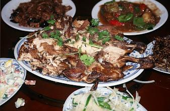 Photo: 03415 二連/市街/レストラン料理
