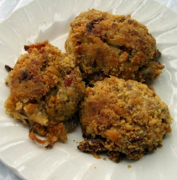 Baked Kraut And Cream Cheese Fritters
