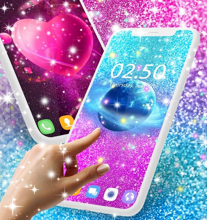Glitter Galaxy Live Wallpaper Android Aplicaciones Appagg