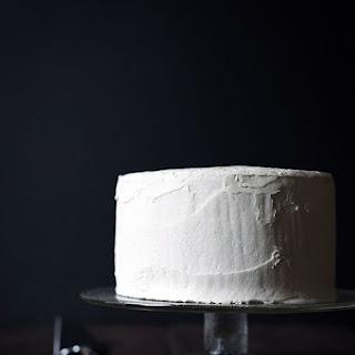 Eggnog Rum Layer Cake