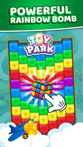 Toy Park: Match3 Puzzle, Blast Crush Toon Cubes  captures d'écran 1