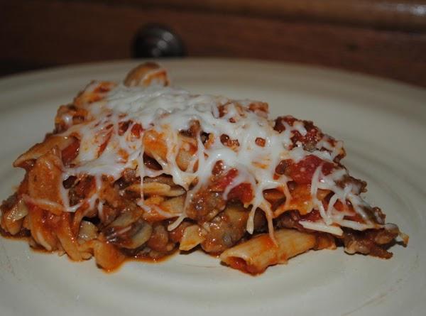 Meaty Pasta Casseroles Recipe