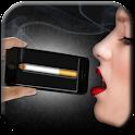 Virtual cigarette icon
