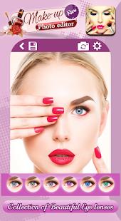 editor de fotos de maquillaje