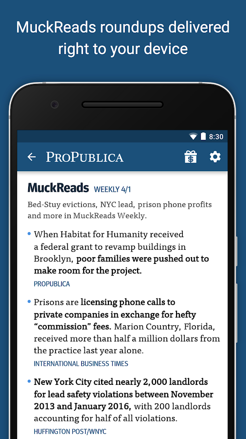 ProPublica- screenshot
